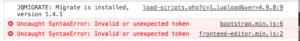 Syntax Error : Invalid Token-schermafbeelding-2018-09-om-09-08-png