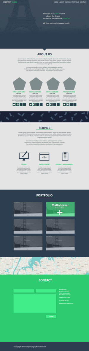 One-page team-company_website_onepage-png