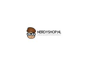 Logo voor nerdy/geek (web)shop-nerdyshop-png