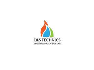 Logo voor installatiebedrijf-estechnics-png