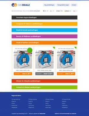 Dagactie Overzicht design met sub-pagina-index-png