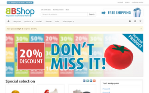 E-commerce website-bbshop-png