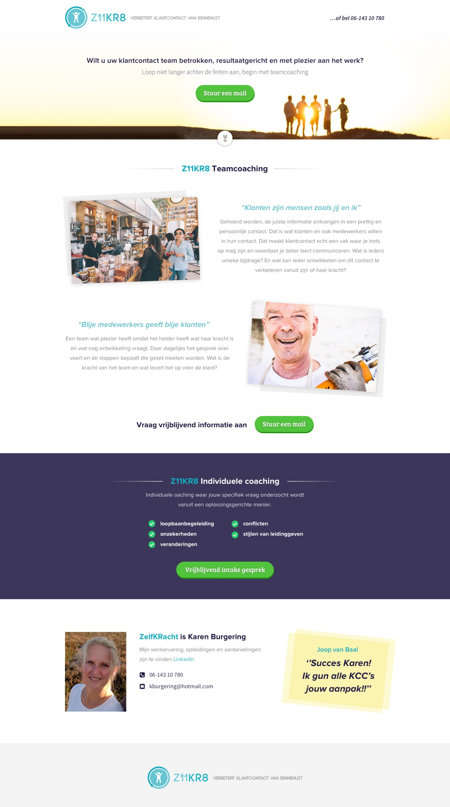 One page layout met diverse mogelijkheden-z11kr8-jpg
