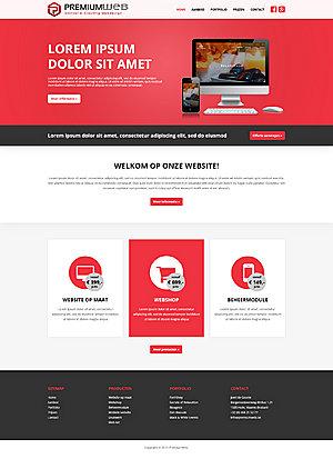 Webdesign voor bedrijf   Deadline: Niet dringend   �325-premiumweb-home-jpg