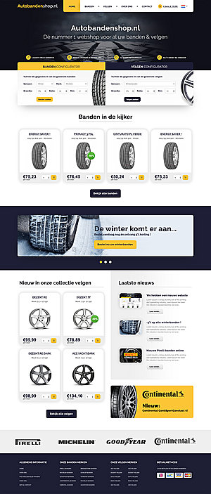 ONTWERP: Webshop (meerdere landen) | Zondag 11 december | € 450-autobanden-home-symu-jpg