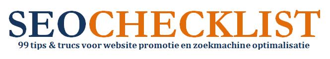 SEO Checklist: 99 Tips & Trucs voor Website Promotie & Zoekmachine Optimalisatie (€5)-seochecklist-png