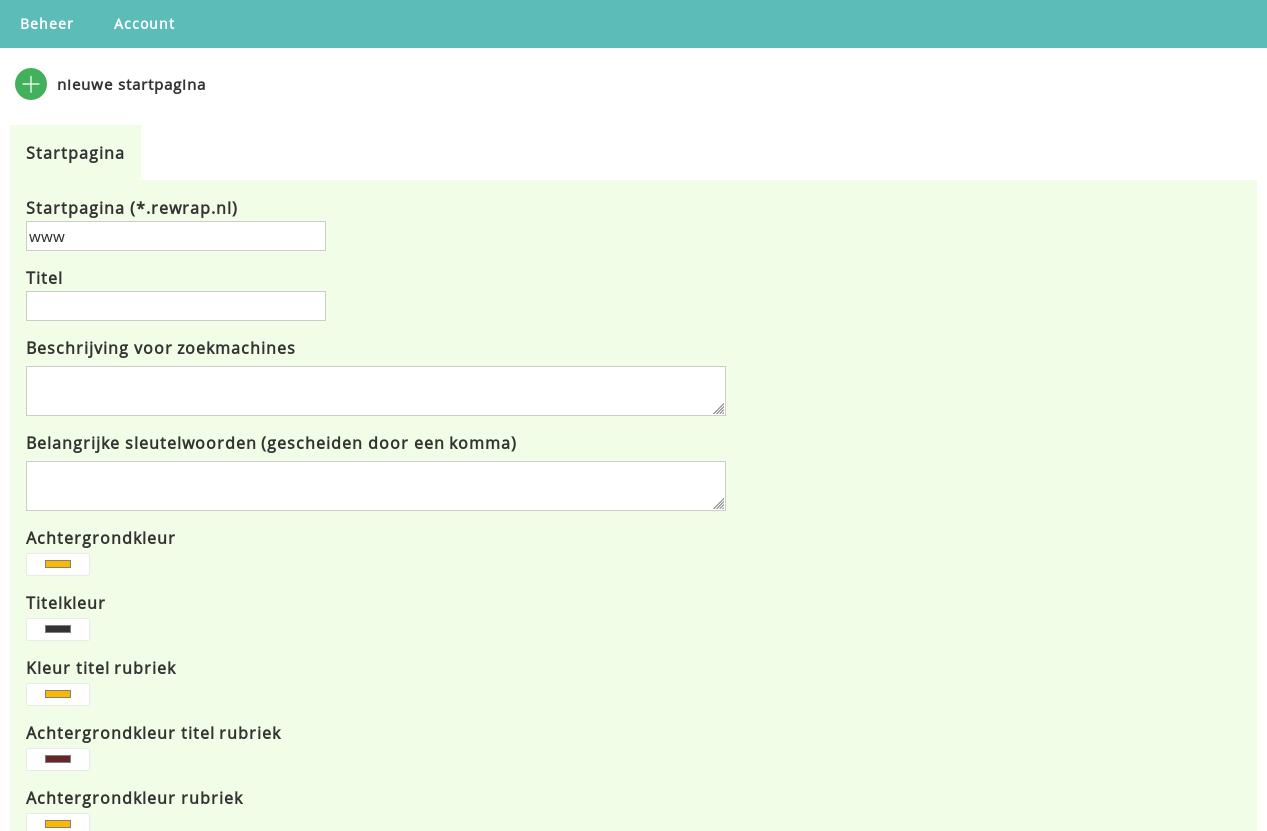 Modern Startpagina Script Te Koop - Met Mogelijkheid Tot Links Verkopen-cms-startpagina-script-demonstratie-png