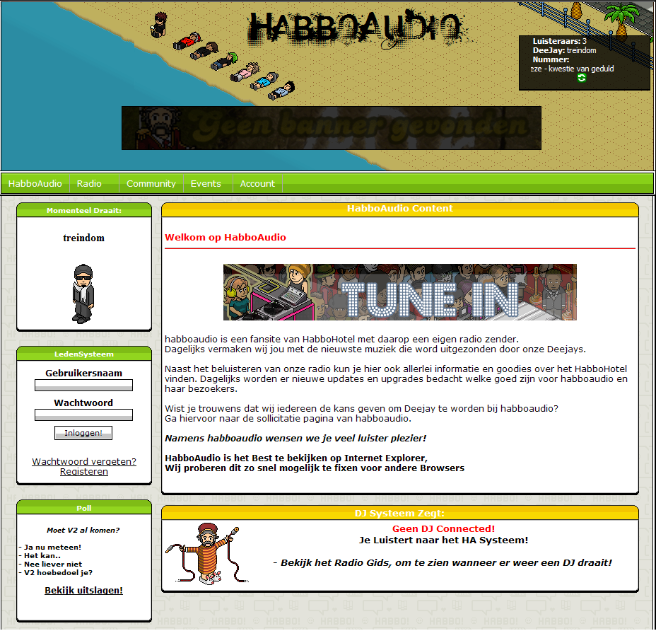 HabboAudio.nl bekende radio website!-screenv1-png