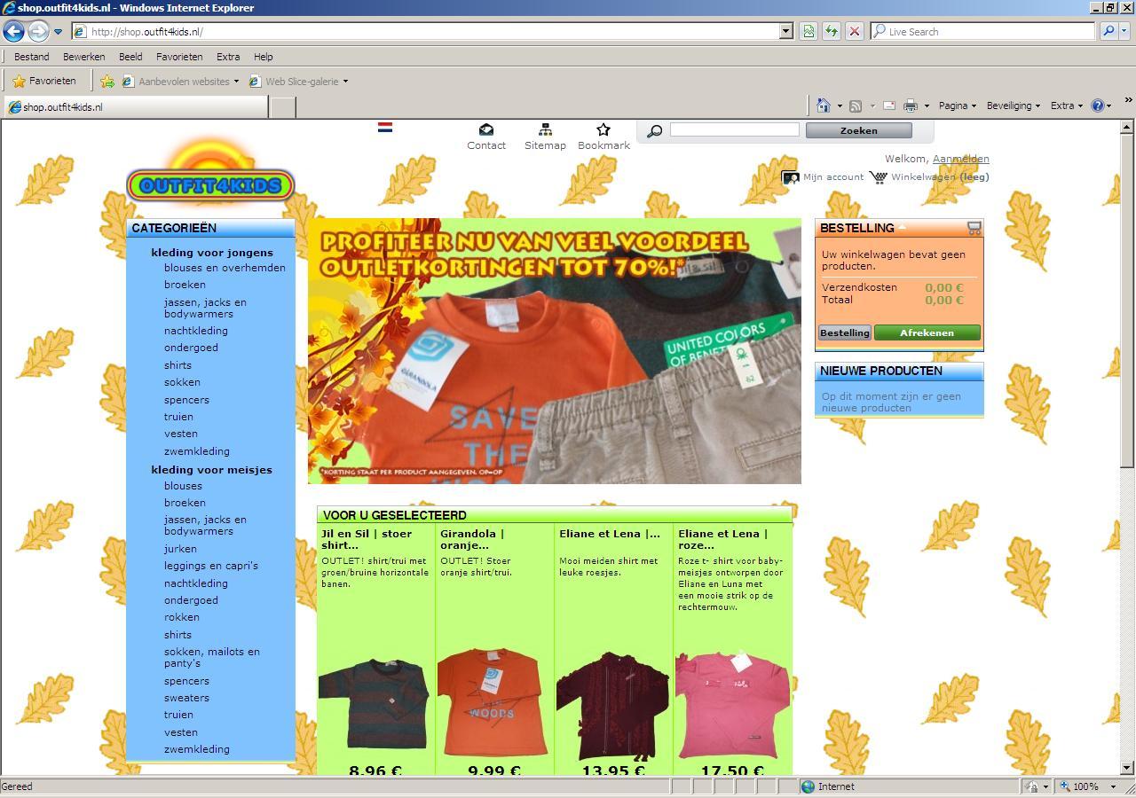 Kinderkleding Webshop.Outfit4kids Nl Kinderkleding Webshop