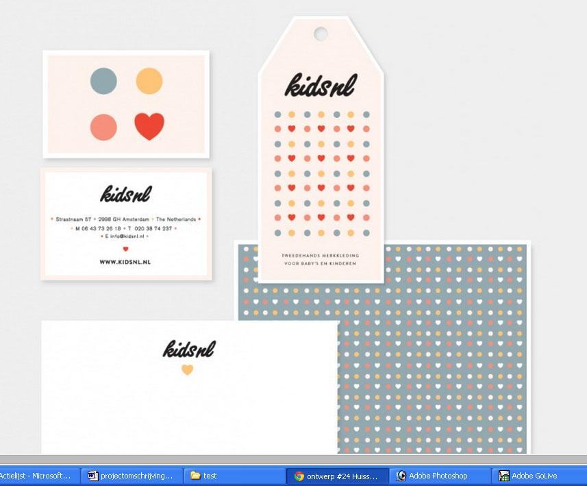 Kinderkleding Webshop.Complete Huisstijl Voor Een Kinderkleding Webshop Incl Domeinnaam