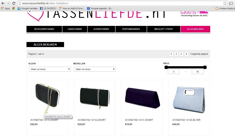 Tassen Ontwerp Wedstrijd : Winkel tassen te koop incl domeinnamen en voorraad