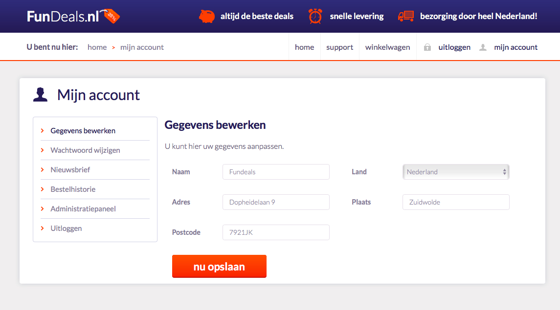 FunDeals.nl Domeinnaam + Website + Voorraad-fundeals1-jpg