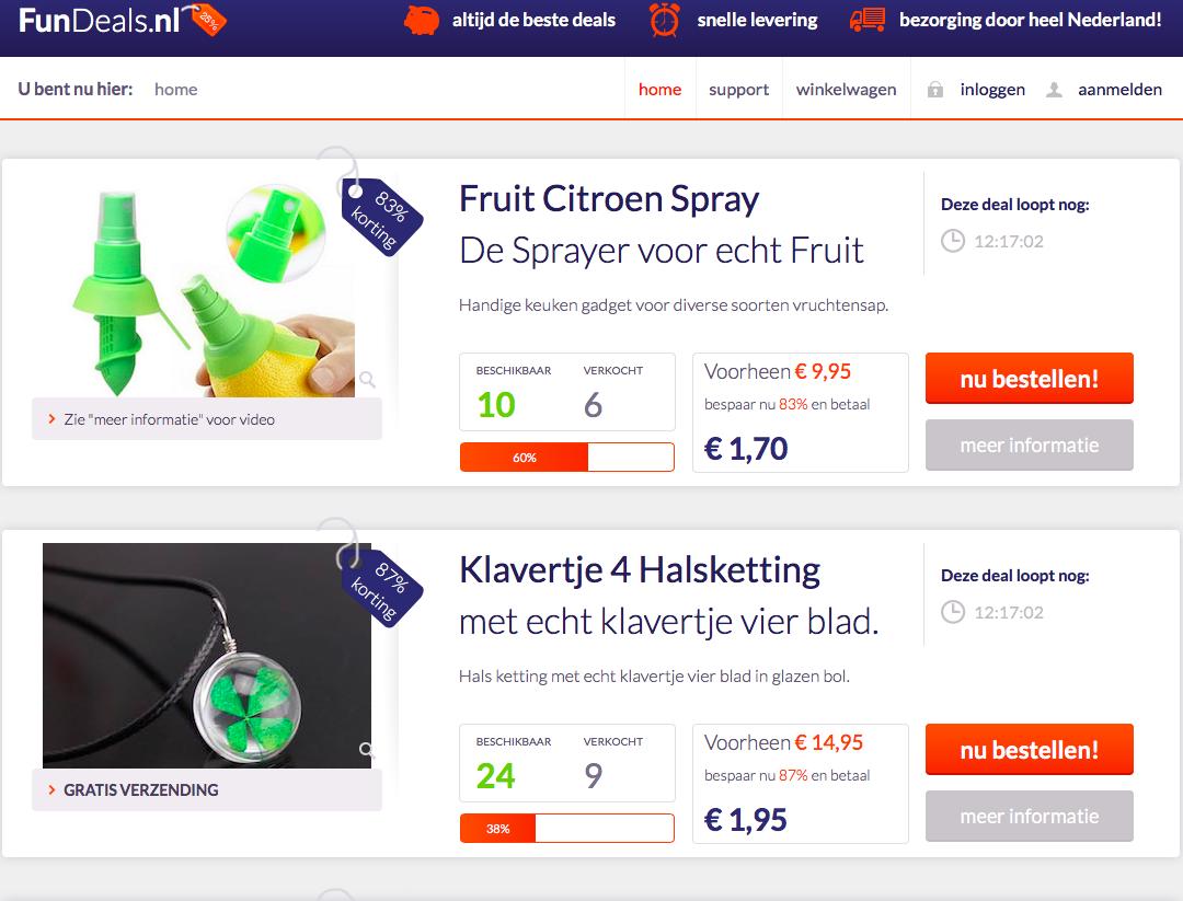 FunDeals.nl Domeinnaam + Website + Voorraad-fundeals3-png