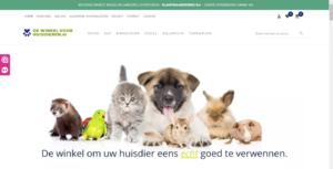 Uitstekende geautomatiseerde Dierenwinkel dewinkelvoorhuisdieren.nl-shop-png