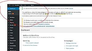 Wordpress kapot? - dashboard werkt niet naar behoren-kapot-jpg